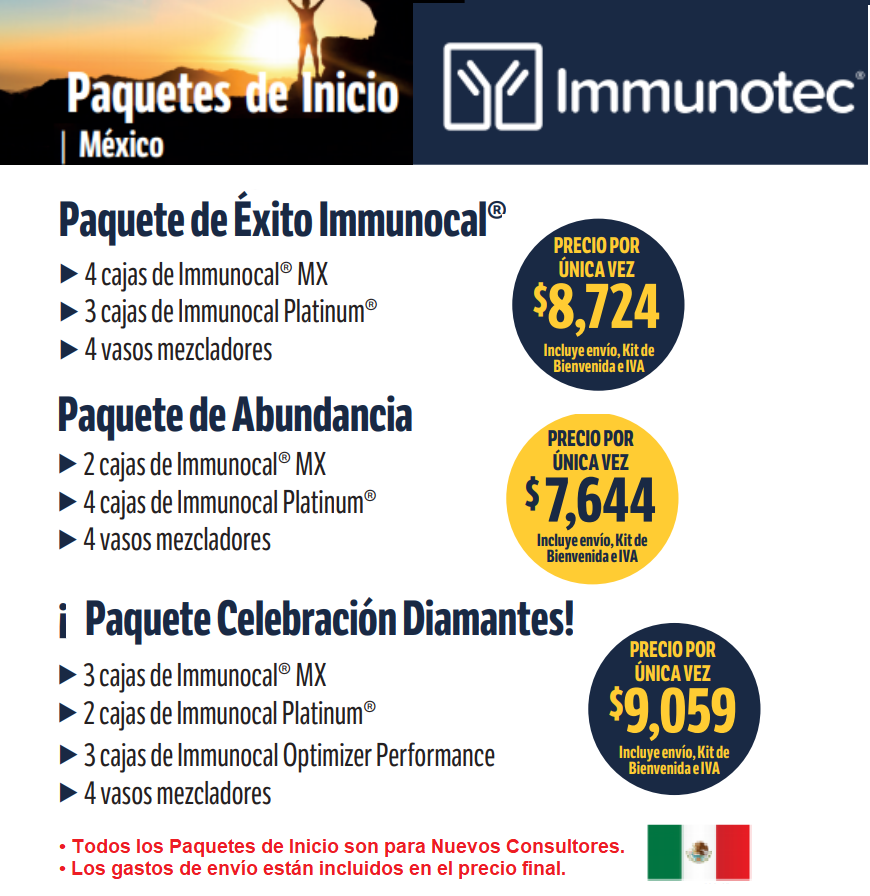comprar immunocal mexico